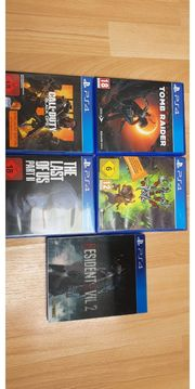 5 x PS4 PS5 Spiele