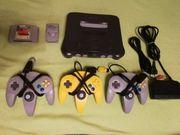 Nintendo 64 3 ORIGINALE CONTROLLER