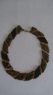 Kette Halskette Schmuck Perlen Swarovskielemente