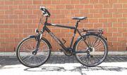 Schönes schwarzes Tourenrad - 26 Zoll
