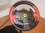 Thrustmaster-T150-Ferrari-Racing-Wheel-Pedal-Set-Rennlenker-Lenkrad-PC-PS4