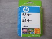 Druckerpatronen HP 56 - Doppelpack - Original -