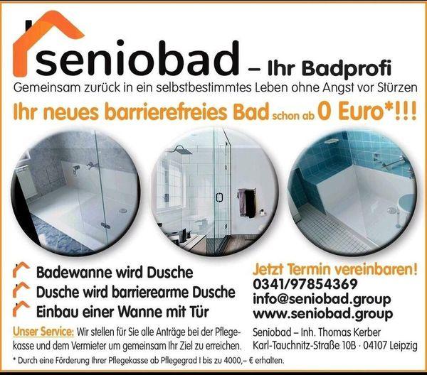 barrierefreie Dusche Badumbau über Pflegekasse