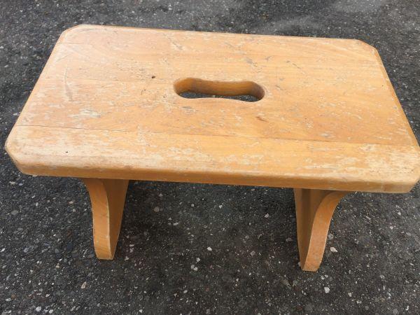 kleiner Holz Schemel Hocker