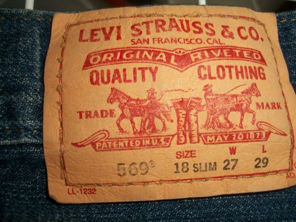 Jeans LEWIS 569 in 27