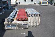 82 m² gebrauchtes Gerüst Fassadengerüst