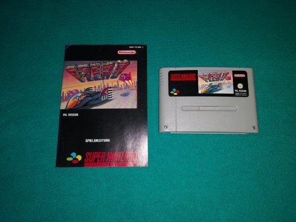 Super Nintendo SNES F-Zero mit