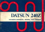 owner manual for Datsun 240