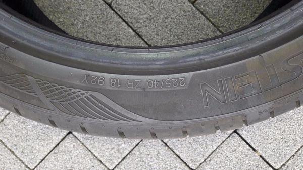 4 Reifen 225 40 ZR