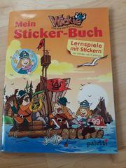 Stickerbuch Wickie