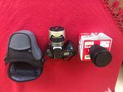 Minolta Dynax 300si mit Kameratasche
