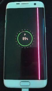 Samsung S7 Edge Weiss