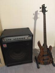 E-Bass und Eden Verstärker zu