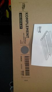 Ikea Schuhregal Komplement Neu 100cm