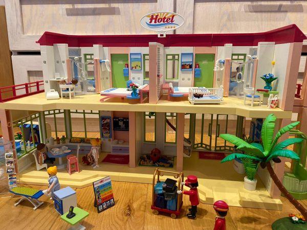 Playmobil Hotel Pool und Minidisco
