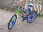 Kawasaki Design Fahrrad 26 Zoll