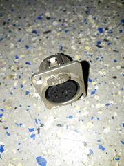 Neutrik Einbaubuchse NC7FD 7polig D-Size