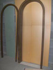 Türbogen 75 cm Eiche gebeizt