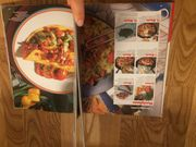 Verschiedene Bücher Kochbuch Spruchbilderbuch Handarbeitsbuch