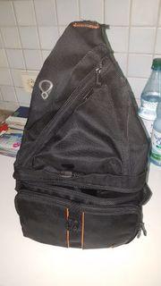 1 Fotorucksack schwarz 1 Fotorasche