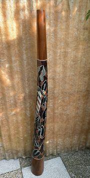 Sale Großes afrikanisches Didgeridoo 128cm