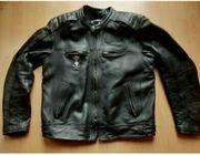 Harley Davidson Skull Lederjacke