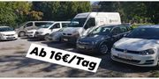 ab 16 - EUR Fahrzeug mieten