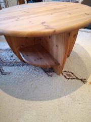 Couchtisch Massivholz Kiefer gelaugt geölt