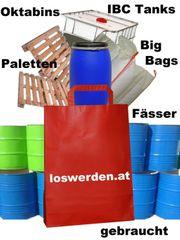 Bieten Big Bags Fässer IBC-Tanks