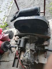 VW Käfermotor mit Getriebe und