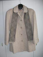 Damenjacke aus 75 Wolle beige