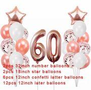 Geburtstagsdeko 60 Geburtstag Geburtstagsfeier neu