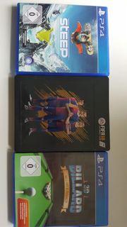 PS4 Spiele alle zusammen