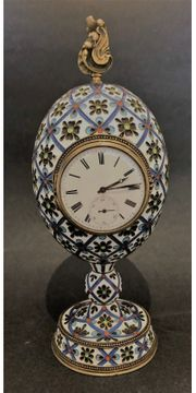 Antik Imperial Russische 88Silver Emaille