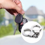 Schlüsselanhänger Handschellen NEU