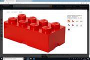 Riesen Lego Steine Rot