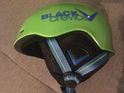 Ski Helm Black Crevice Größe