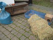 Meerschweinchen-Käfig Holzstall Zubehör