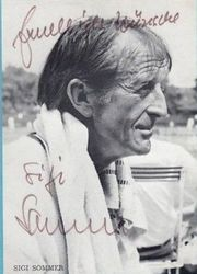 Sommer Sigi Autogramm - 50 Jahre