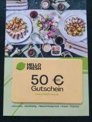 Gutschein Hello Fresh 50