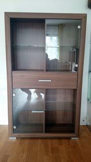 Wohnzimmermöbel Sideboard Couchtisch Vitrinen- Bücherschrank