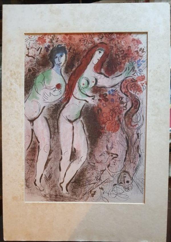 Marc Chagall Lithografie