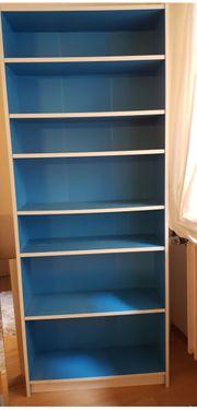 IKEA Billy Regal Bücher blau
