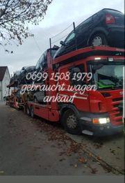 Gebraucht Wagen ankauf 0699 1508