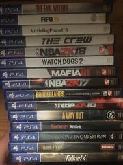 Diverse playstation Spiele