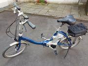 Flyer-Faltrad E-Bike
