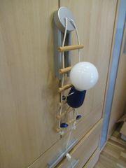 Lampe Kinderzimmerlampe Männchen an Leiter