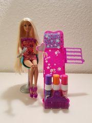 Mattel Barbie Haare färben