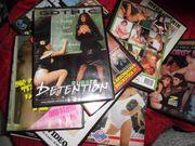 Sexfilme auf Videocassette und DVD