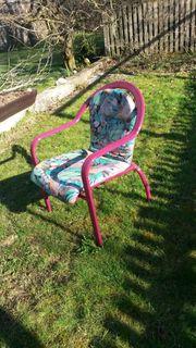 4 Alu-Gartenstühle